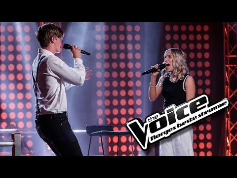 Ingeborg Walther vs Elias Grimstad Salbu  Like Im Gonna Lose You  The Voice Norge 2017  Duell