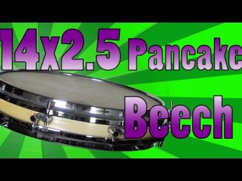 14x2.5 Sonor Vintage Pancake (1965) Snare Drum - Snare Pimp Project Volume 18