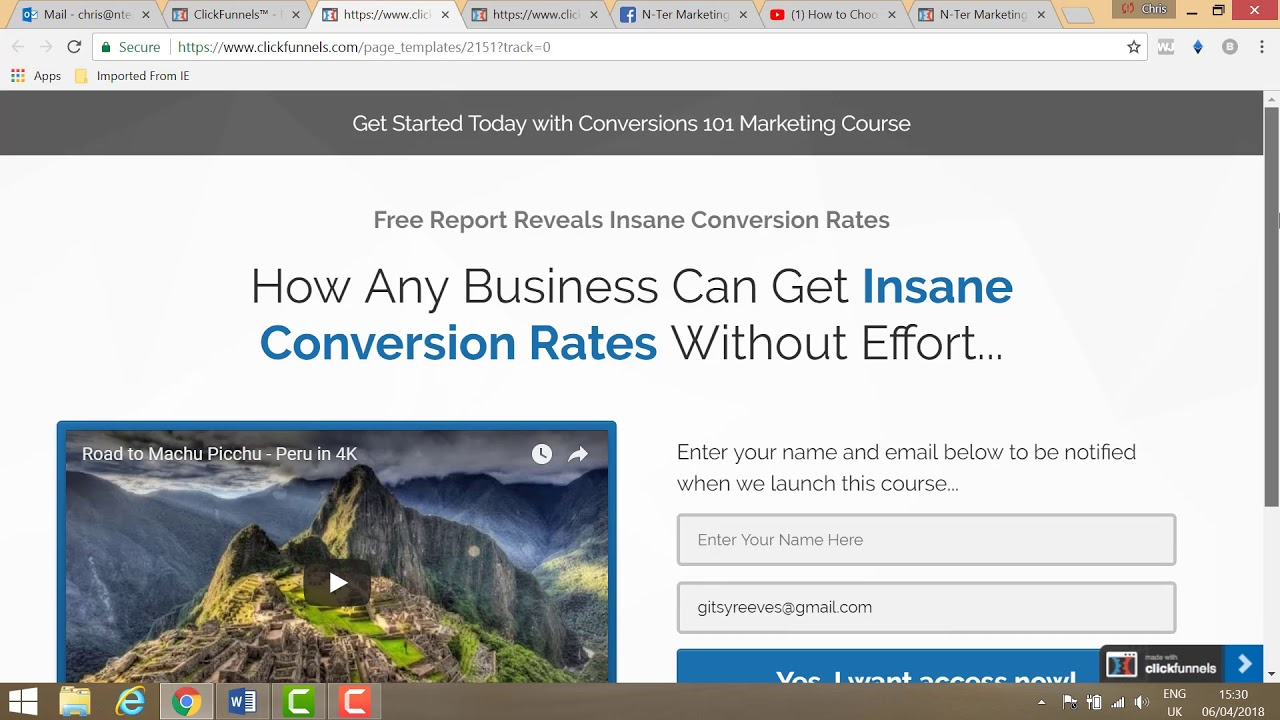 How to Use Clickfunnels To Increase Your Online Sales - Demo Video