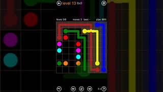 Flow Free Bridges Sampler Speedrun in 16:30 screenshot 4