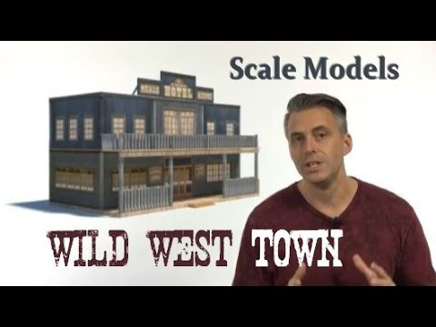 Wild West Town | Wild West Town for your Model Railroad