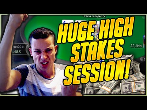 HUGE Sunday Tournament Session - Everything High Stakes (Twitch Poker Highlights)