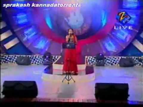 zee kannada tv SaReGaMaPa final highlights song by Shruti   YouTube