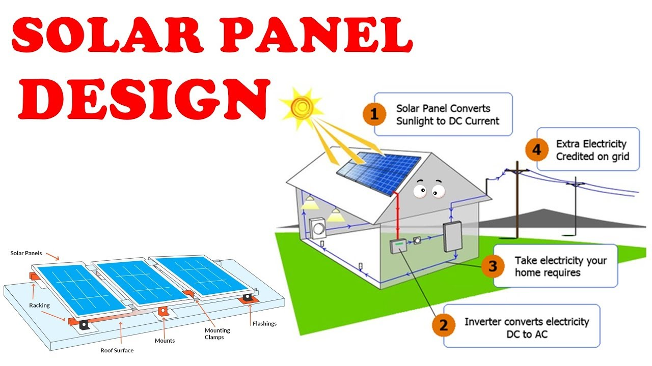 hight resolution of solar panel design and calculations how to install in home explained in tamil