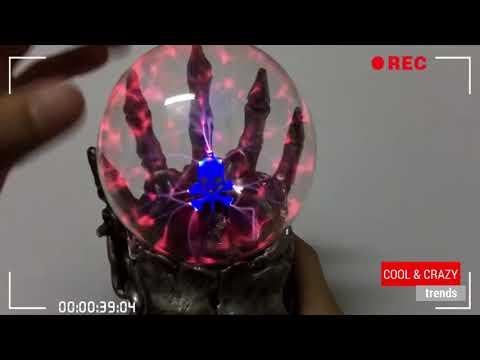 Skull Head Plasma Magic Ball Lamp