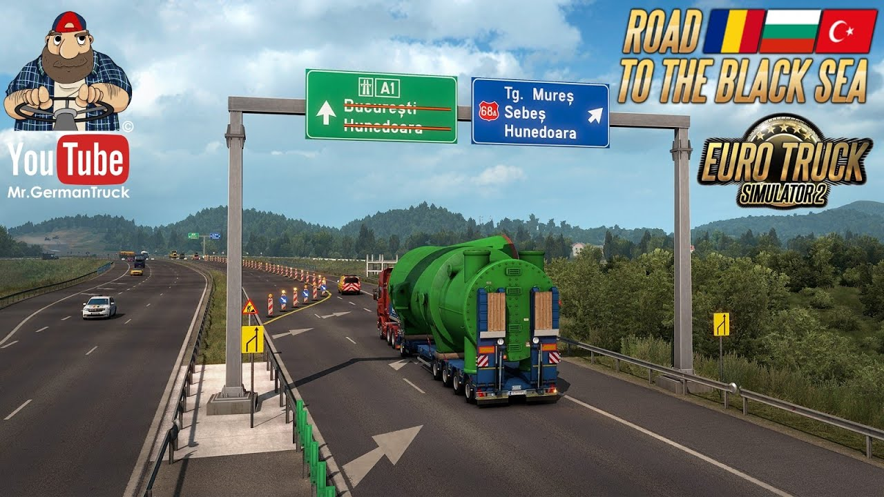 [ETS2 v1.38] Road to the Black Sea – Special Transport Addition