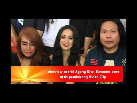 Suasana shoting vidio clip Ageng Kiwi