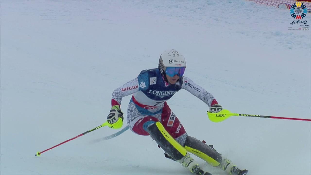 Ladies Alpine Combined Slalom 2017 FIS Alpine World Ski Championships, St. Moritz
