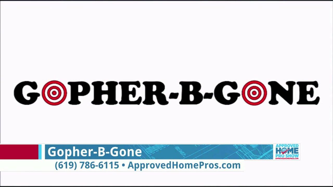 Yard With Gopher B Gone