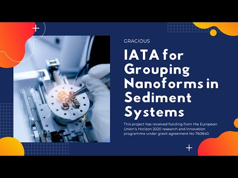 IATA for Grouping Nanoforms in Sediment Systems