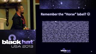 Black Hat USA 2013 - Hunting the Shadows: In Depth Analysis of Escalated APT Attacks