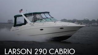 Used 1999 Larson 290 Cabrio For Sale In Barrington, Rhode Island