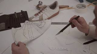 УРОК 2 - КЕДЫ. ПОСТРОЕНИЕ ЧЕРТЕЖА МОДЕЛИ ОБУВИ -  Adidas bundeswehr. Ручное изготовление обуви.