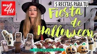 HALLOWEEN: 5 recetas para una fiesta de miedo   Con Sylvia Salas