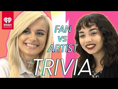 Bebe Rexha Challenges Super Fan In Trivia Battle | Fan Vs. Artist Trivia