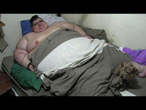 Dikste man ooit gaat op dieet