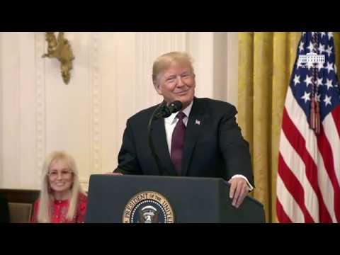 President Trump Presents the Medal of Freedom