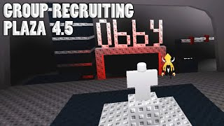 TUTORIAL // Obby HD Gameplay | Group Recruiting Plaza 4.5 ROBLOX