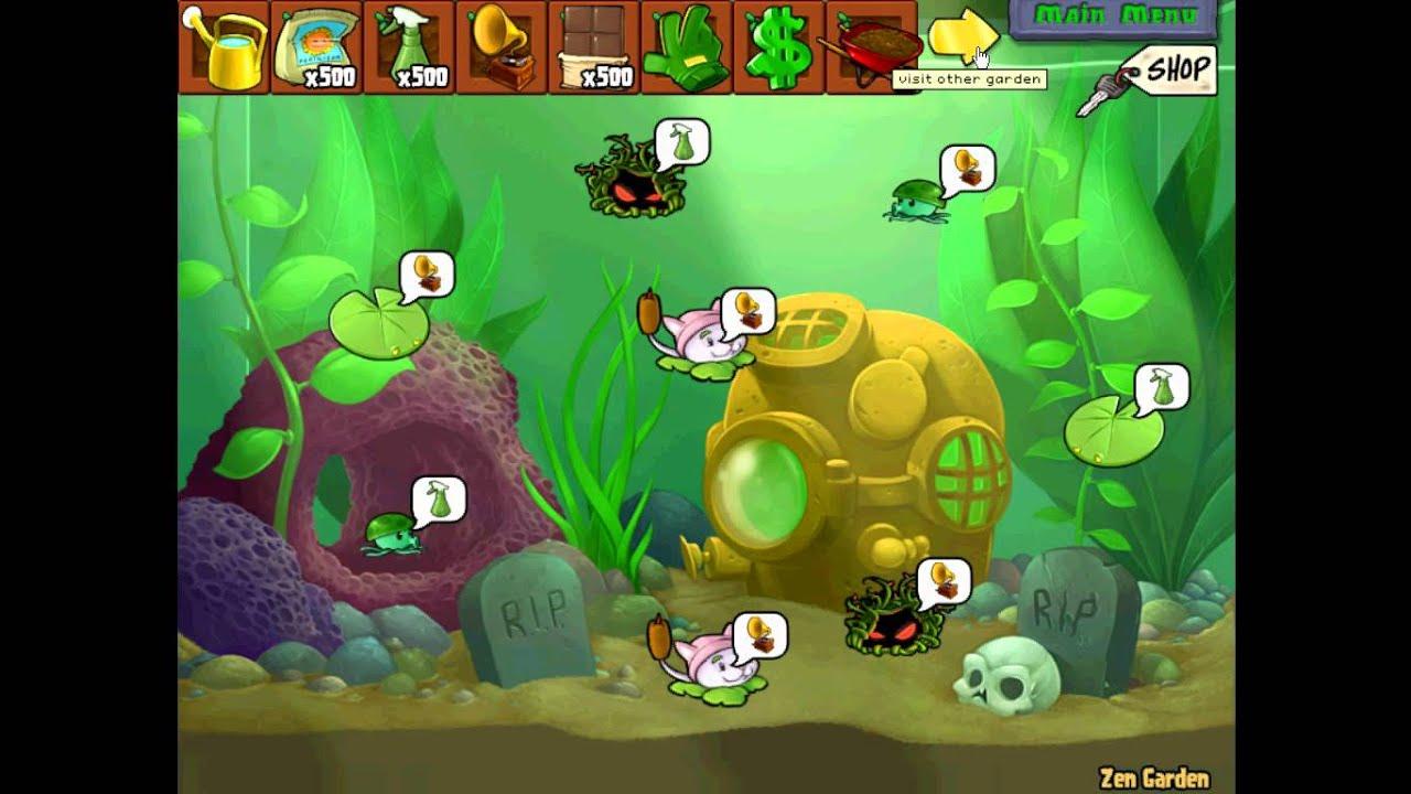 Jard n zen completo plantas vs zombies youtube for Jardin zen plantas vs zombies