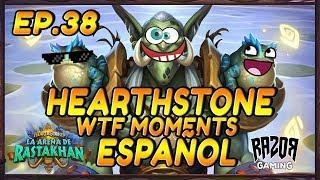 MEJORES MOMENTOS HEARTHSTONE ESPAÑOL | Episodio 38