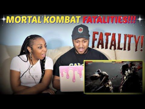 Mortal Kombat 11: All Fatalities and Fatal Blows (So Far) REACTION!!! thumbnail