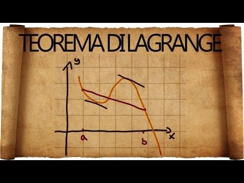 Teorema di Lagrange : spiegazione ed esercizi tipici