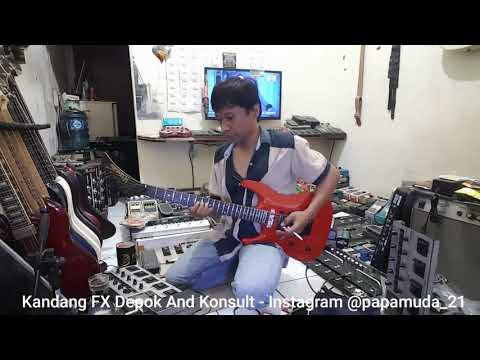 BLUES SOLO GUITAR - COVER BY ROBBY ( Kandang FX Depok )