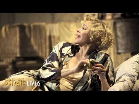 Kim Cattrall is Amanda in Noel Coward's Private Lives