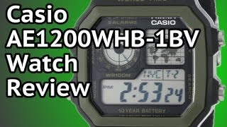 casio ae1200whb 1bv watch review