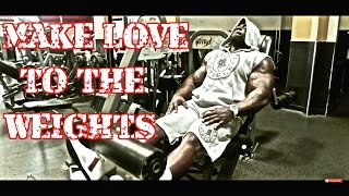 Leg Workout (Make Love To The Weights)| Kali Muscle