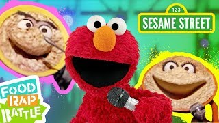 Sesame Street: Cereal vs. Oatmeal feat. James Iglehart & Lynn Cheng | Elmo's Food Rap Battle