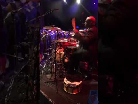 Brent Easton Drummers View at Ricky Dillard Concert