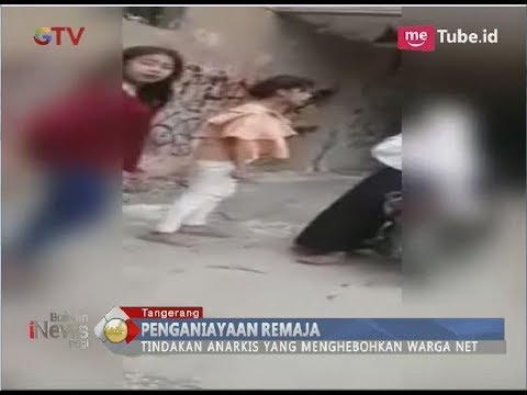 Miris!! Rebutan Pacar, Inilah Video Penganiayaan 2 Remaja Asal Tangerang - BIP 13/03