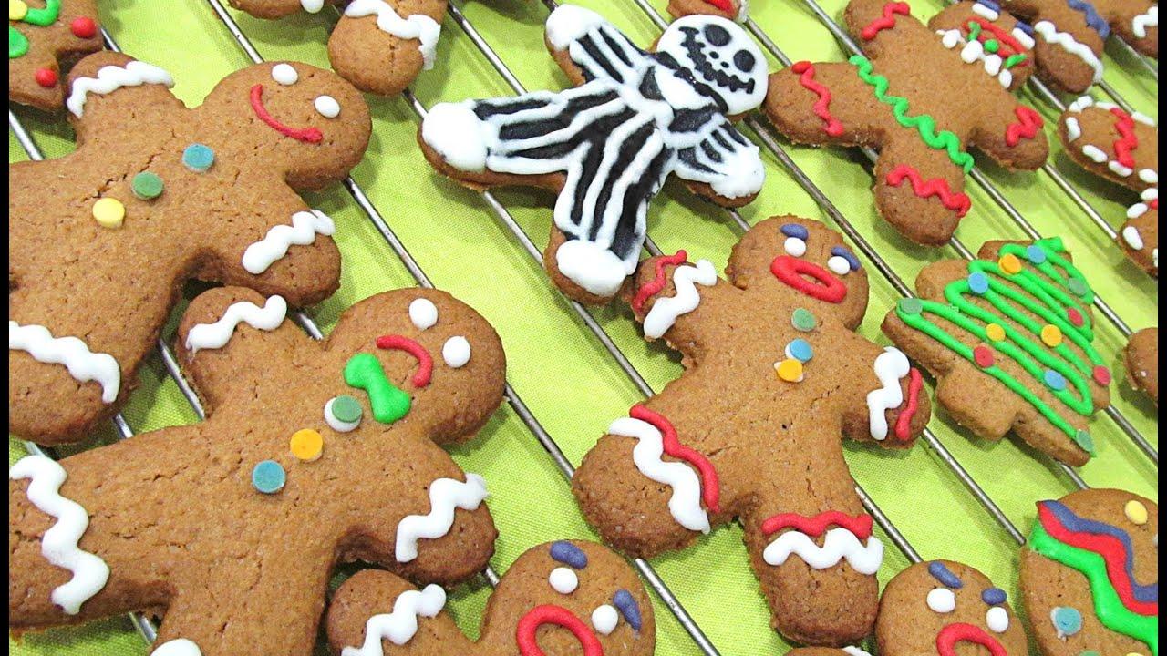 Galletas de jengibre galletas de navidad youtube for Cosina para todos