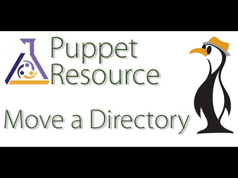 Puppet Moving Directories - The Urban Penguin