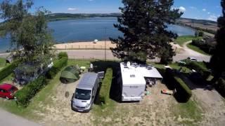 film camping du Lac de Panthier