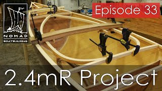 International 2.4mR Sailboat Project - Episode 33 - Making the carlins