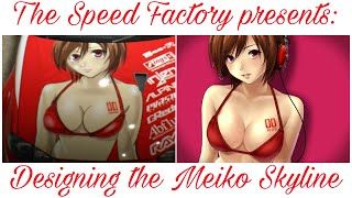 Need For Speed 2015 painting the Meiko Skyline