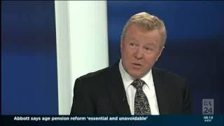 ABC News Breakfast Interview with Rod North 29 April 2014