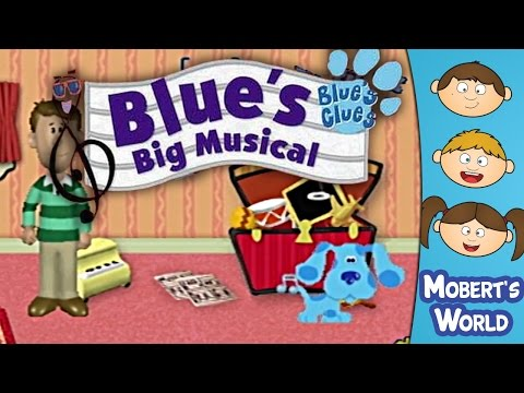Let's Play Blue's Clues - Blue's Big Musical (PS1) - Playstation Gameplay - Loading Screens of Death