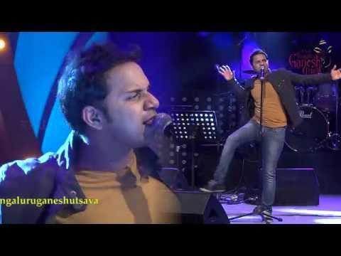 """Oru Maalai Elaveyil Neram"" song by Karthik @ 53rd Bengaluru Ganesh Utsava..!!!"