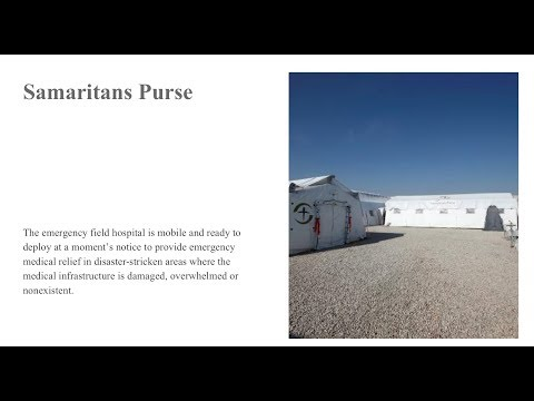Webinar: Laboratory Services at the Samaritan's Purse Emergency Field Hospital