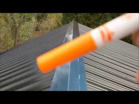 DIY Metal Roofing Installation, Basic How-To Video