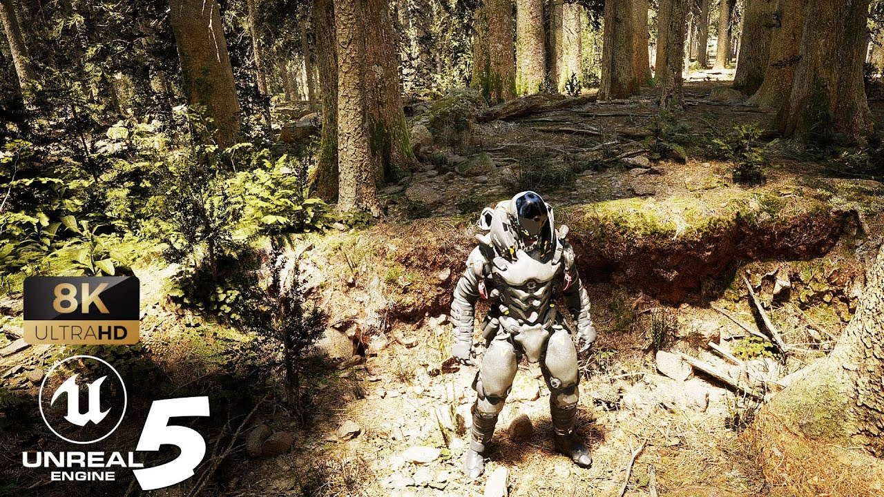 Download Unreal Engine 5 RTX 3090 Realistic Forest with Lumen and Nanite