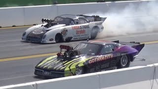 IMPRESSIONS & RACEACTION of NitrOlympX 2015 - Dragster Dragracing NOX 2015