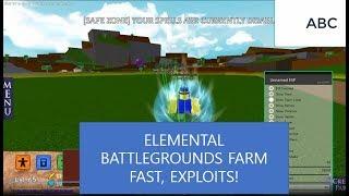 Roblox Elemental Battlegrounds Hack