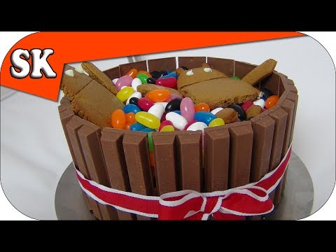 KITKAT CAKE Ice Cream Kit Kat Cake YouTube