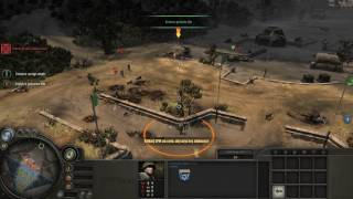 Company of Heroes - Operation Assault Gameplay PC