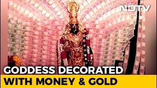 Gold Worth Rs. 4.5 Crore And Rs. 2.5 In Notes For Vizag Temple Goddess