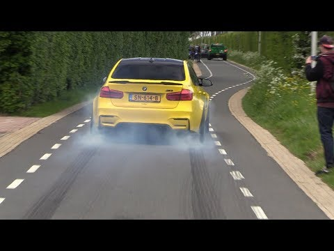 DECATTED 550HP BMW M3 F80 Stage 2 - Drifts & BURNOUTS!